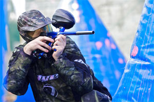 photo Paintball sportif